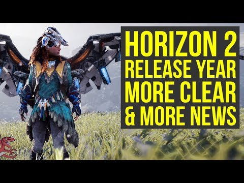 Horizon Zero Dawn 2 Release Year MORE CLEAR, Guerrilla Games Going Big (Horizon 2)