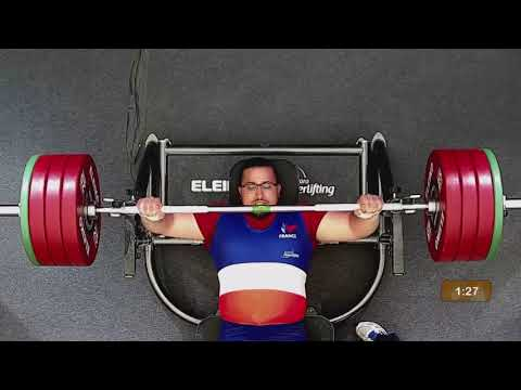 Rafik Arabat | European Champion | Men's Up To 88kg | Berck-Sur-Mer 2018