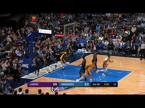 3rd Quarter, One Box Video: Dallas Mavericks vs. Los Angeles Lakers