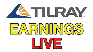 TILRAY Earnings LIVE & Confrence Call! Stock Market 2019 w/ Departures Capital