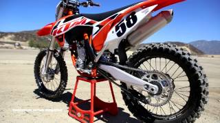 7. First Ride 2015 KTM 350SXF Motocross Action Magazine