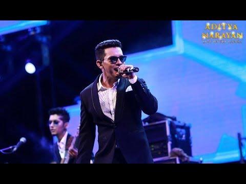 Aditya Narayan live in Sri Lanka | Sinhala Hindi Lovely Mushup
