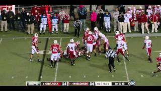 Peter Konz vs Nebraska 2011