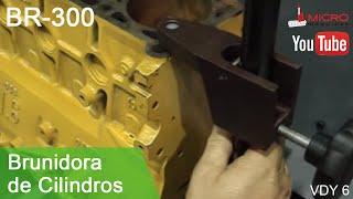 Brunidora de cilindros - BR-300
