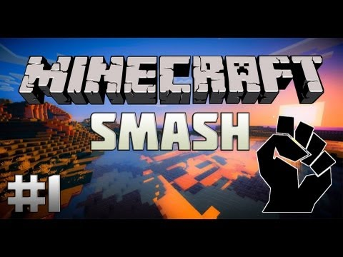 Minecraft Mini-Game : Smash - КУЛАЧНЫЙ БОЙ