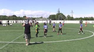Bigues Spain  City new picture : Celtas vs Vipers. ADRIÁ, El mejor touchdown de la Spanish Flag Bowl Calatayud 2.015