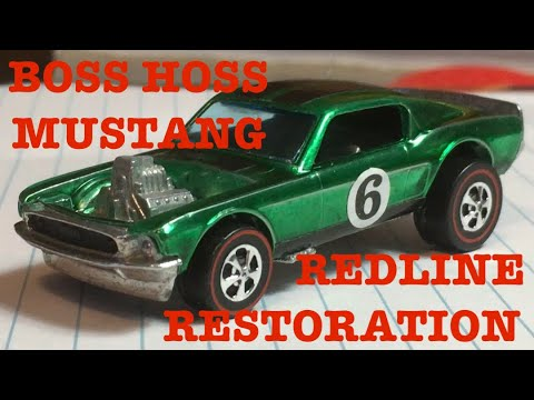 THE TOY SHOP EP 1 1969 BOSS HOSS MUSTANG REDLINE RESTORATION
