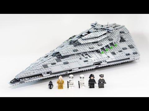 LEGO Star Wars First Order Star Destro