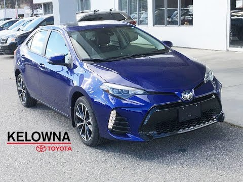 New 2019 Toyota Corolla Se I Upgrade Pkg I Moonroof I Heated