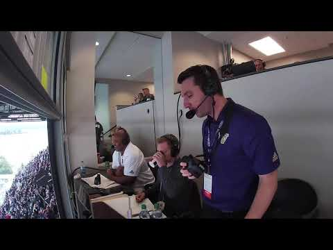 Football: Tony Castricone Calls vs. Hawai'i