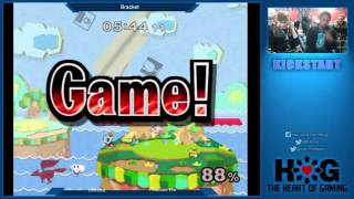 Leffen (Fox) vs Professor Pro (Fox), Winner's Finals – Kickstart 7