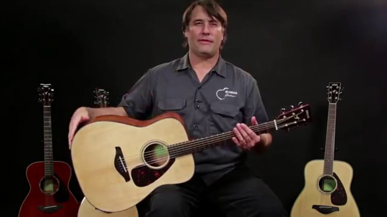 New From NAMM 2016: Yamaha 800 Series Acoustic Guitars