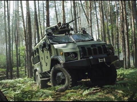 В сети появился проморолик о бронеавтомобиле «Варта»