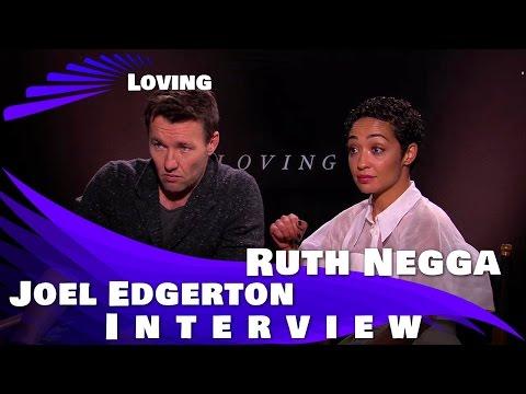 LOVING - Joel Edgerton and Ruth Negga Interview (видео)