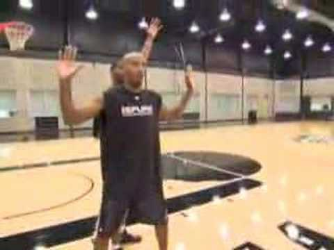VIDEO: Bruce Bowen on the fundamentals of man-to-man defense