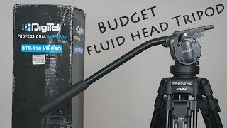 Best Budget Fluid Head Professional Video Tripod For YouTube Under Rs 6000 !!!