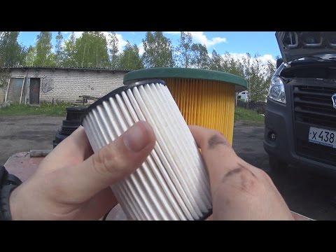 Замена топливного фильтра газель некст cummins своими руками 81