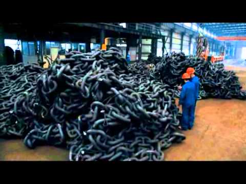 This Chinese anchor chain company promotional video has what may be the worst voice-over narration ever