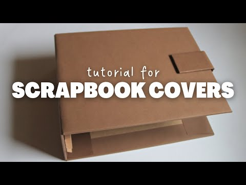 COVER AND SPINE FOR SCRAPBOOK ALBUM   DIY PHOTO ALBUM