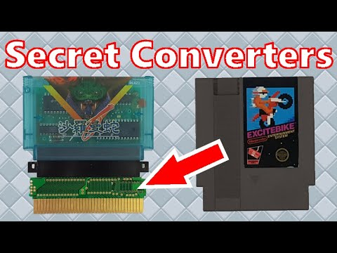 How to find Famicom Converters inside of NES cartridges