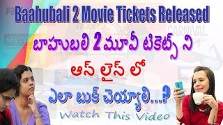 Nonton How to Book Baahubali 2 Movie Tickets Through Online |TELUGU|HEMANTH| Film Subtitle Indonesia Streaming Movie Download