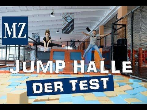 """JUMP Trampolinpark Halle: Die """"größte Trampolin-Hal ..."""