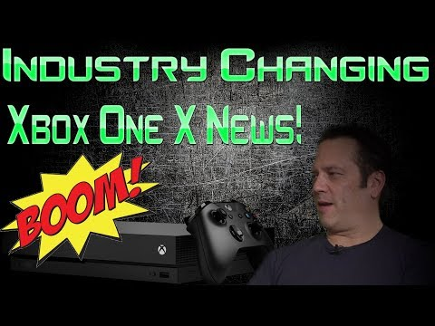 Microsoft Has Done It Again! Xbox One X Just Got Industry Changing News!!
