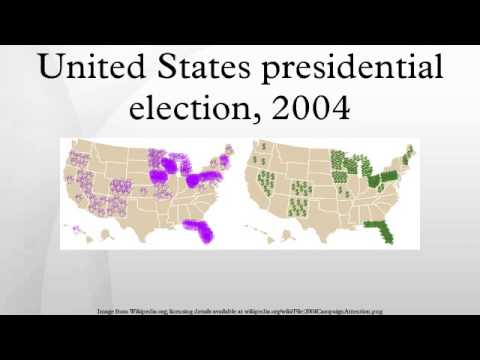 United States presidential election, 2004