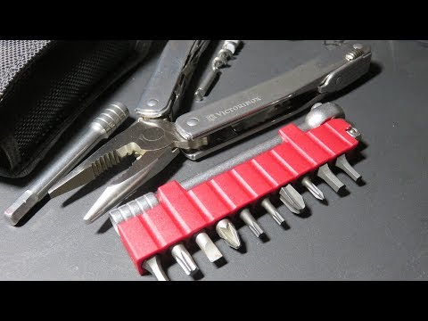 Best Multitool Ever : Victorinox Swisstool Spirit, a must have !