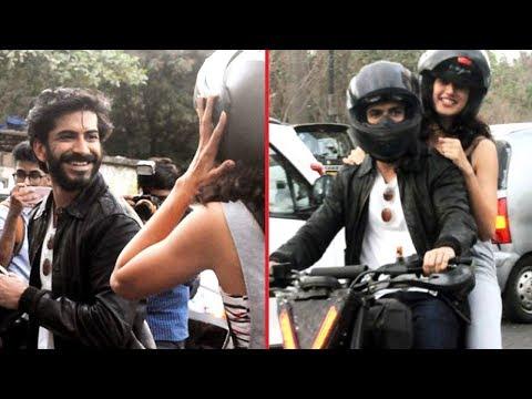 Harshvardhan Kapoor & Taapsee Pannu Enjoy Bike Rid