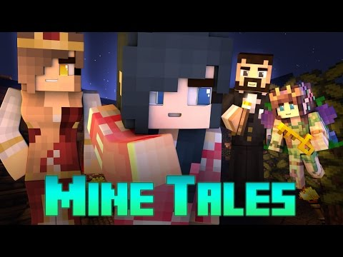 Mine Tales - GETTING THROWN IN JAIL? | Golden Queen (Minecraft FairyTale Roleplay) - Rumplestiltskin