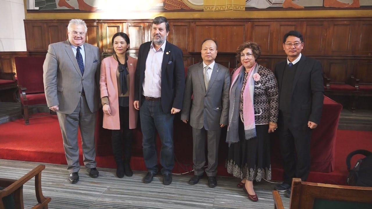 Υπογραφή Συμφωνίας ΑΠΕ-ΜΠΕ, Παντείου με το Πανεπιστήμιο Μέσων Ενημέρωσης Zhejiang της Κίνας