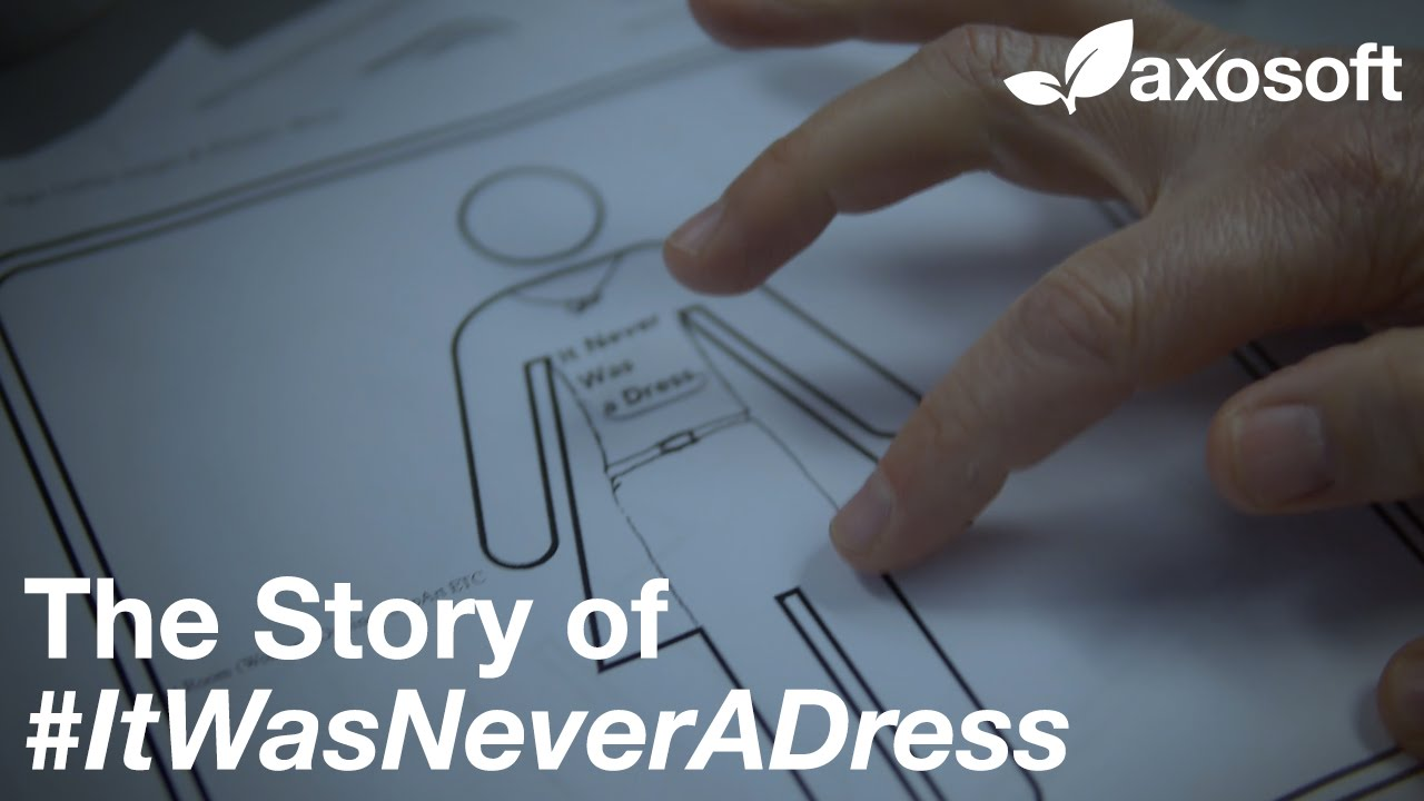 #ItWasNeverADress: The Story