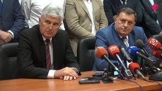 Sastanak Dragana Čovića i Milorada Dodika
