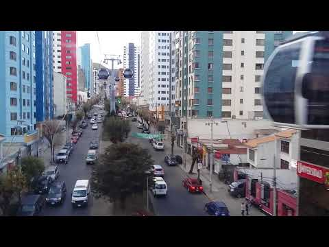 Operación: Línea Blanca, MiTeleférico, Ciudad de La Paz, Bolivia
