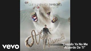 Víctor Manuelle  Cuando Ya No Me Acuerde de Ti  Audio