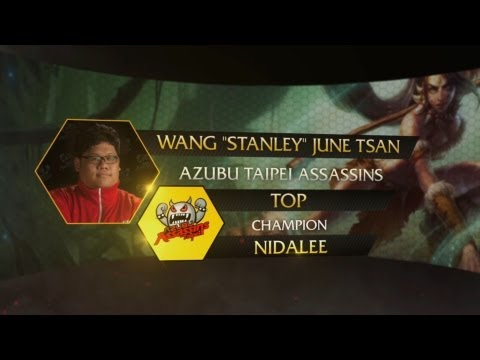 Player - For this round of the Pro Player Pick, we shine the spotlight on Stanley, top-laner for the World Champions Taipei Assassins. Click here to sign up and play ...