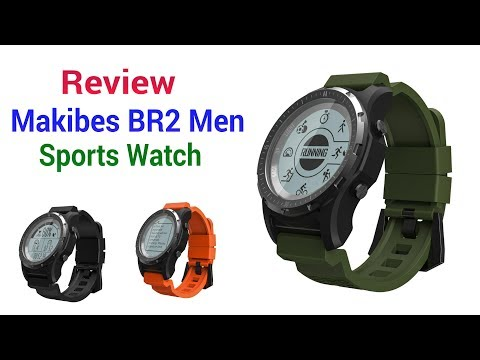 Review: Makibes Br2 Men Sports Watch