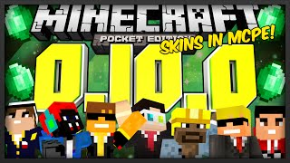 [0.10.0] Minecraft Pocket Edition: 0.10.0 News - Skins in MCPE!