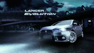 Mitsubishi Lancer Evolution Defy Physics TV Ad