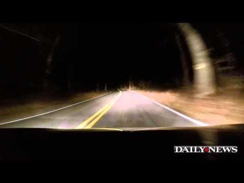 A haunted ride along Clinton Road