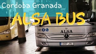 Download Lagu Alsa Bus Cordoba to Granada | Amazing Andalusia - Spain Travel Experience | Faster than Renfe Train Mp3