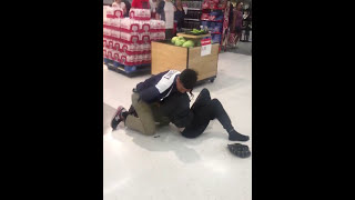 Lady Has A Meltdown In Target and Gets Taken Down By Security