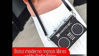 Bolso manos libres estilo Radio Retro