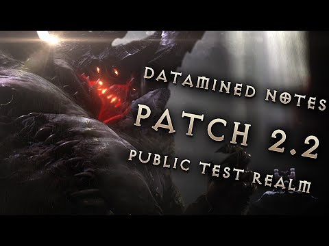 Patch 2.2 Datamined Notes: Microtransactions, Sets, Cursed Realms Minigame: Diablo 3 Reaper of Souls
