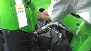 8. Changing Spark Plug on 2009 700 Mud Pro