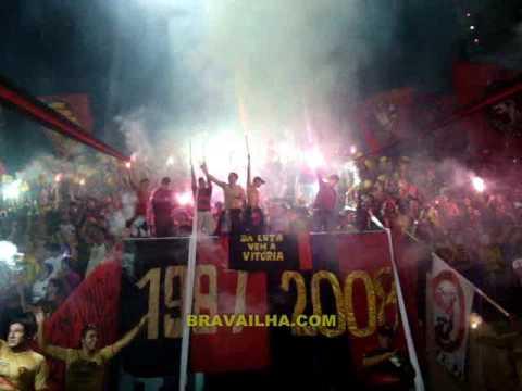 Video - BRAVA ILHA - Sport vs. LDU - Brava Ilha - Sport Recife - Brasil