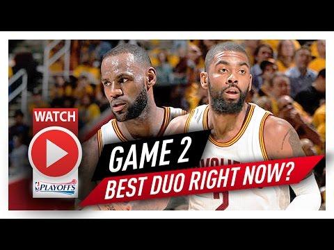 LeBron James & Kyrie Irving Game 2 ECSF Highlights vs Raptors 2017 Playoffs - 61 Pts Total