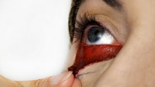 Video Bloody eye makeup MP3, 3GP, MP4, WEBM, AVI, FLV April 2018
