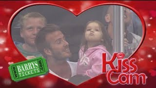 Nonton David Beckham on LA Kings Kiss-Cam Film Subtitle Indonesia Streaming Movie Download